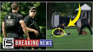 BREAKING: WHITE HOUSE ON FULL LOCKDOWN AFTER MAN JUMPS BARRIER,RUSHES TOWARDS TRUMP WITH THIS TERRIF