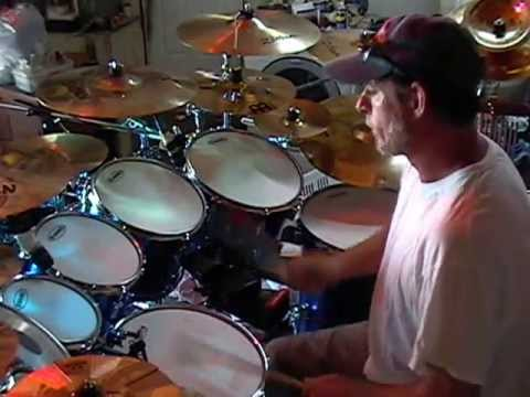 stand up and give him the praise drum cover