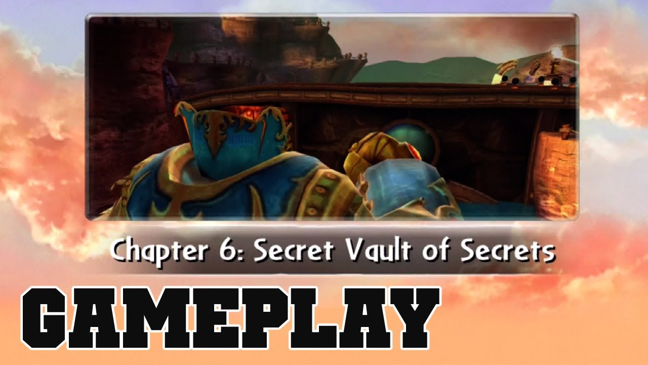 Cotv skylanders giants secret vault of secrets gameplay for Vault of secrets