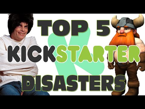 Top 5 Kickstarter Disasters - GFM