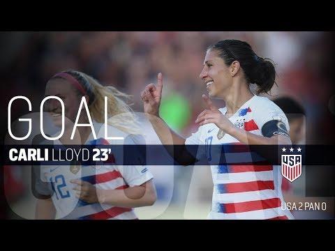 WNT vs. Panama: Carli Lloyd First Goal - Oct. 7, 2018