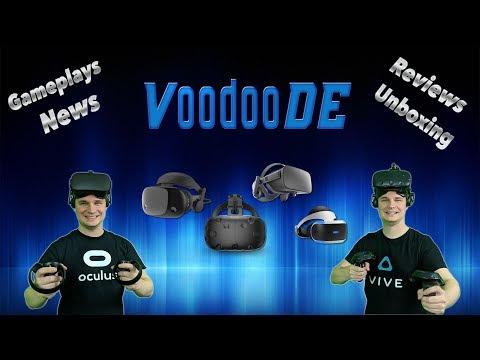 VoodooDE - Aktuelle deutsche Virtual Reality Gameplays, VR Weekly News und VR Hardware