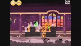 Angry Birds Seasons - Haunted Hogs 2-7 - Walkthrough 3 Stars
