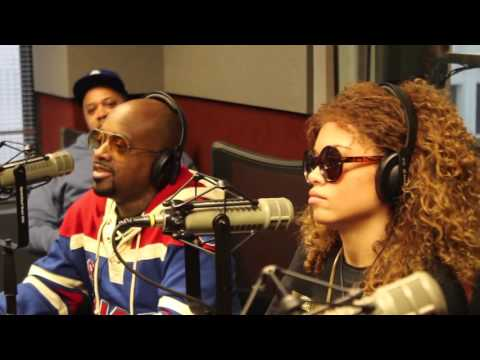 Miss Mulatto & Jermaine Dupri on Ryan Cameron & Wanda Show (V-103)