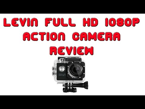 Levin Action Camera Full HD 1080p - Review
