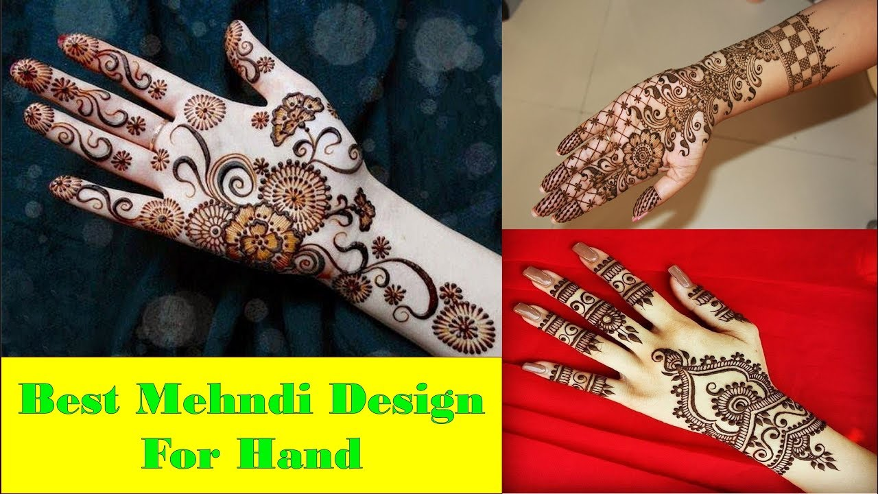 Mehndi Hands With Watch : Mehndi design for hand latest arabic henna designs