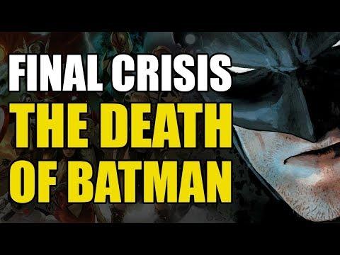 The Death Of Batman! (Final Crisis Conclusion)