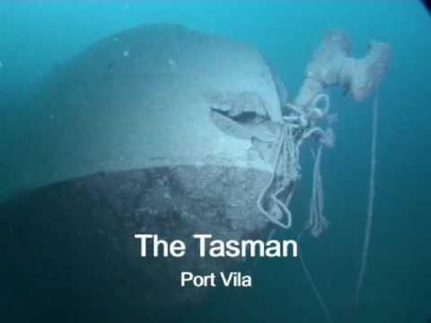 dive, vanuatu, diving, tasman, sea, plane, wreck, reef, reefs, port vila, nautilus, watersports