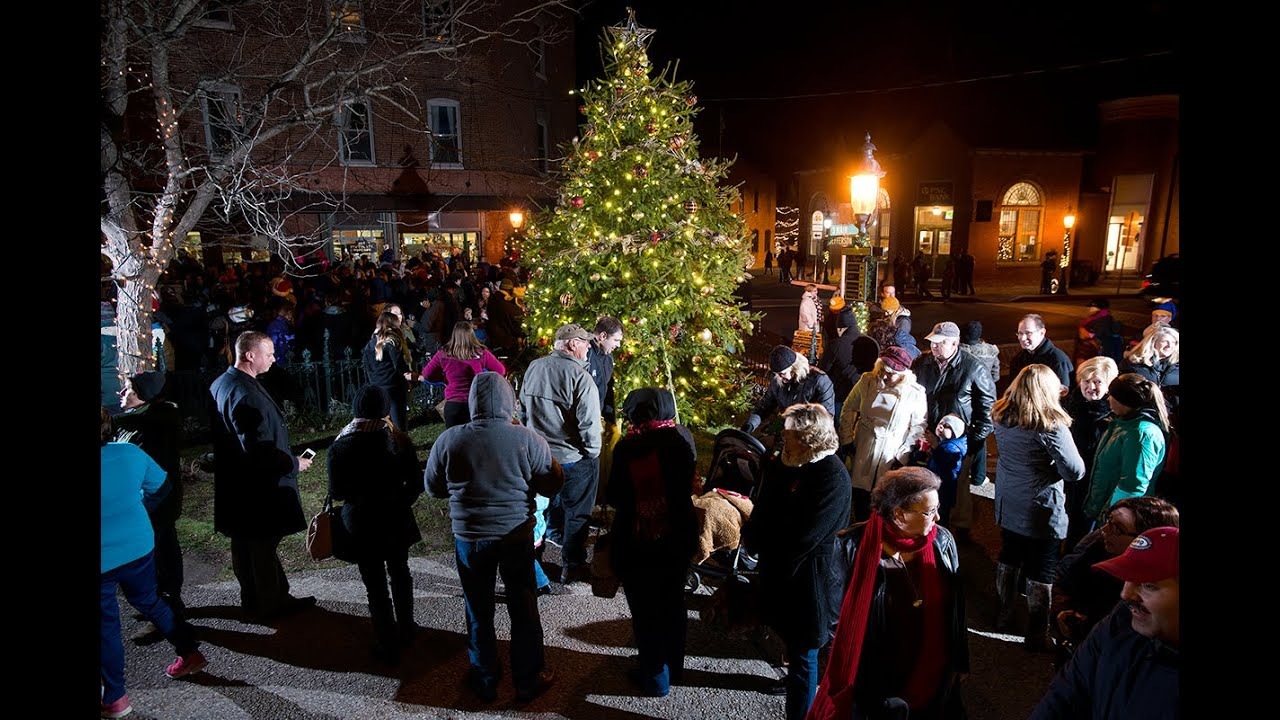 berlin maryland christmas tree lighting 2014 youtube - Christmas Lights Maryland