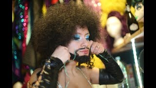 The belly dancer donning a beard to protest LGBT abuse in Egypt