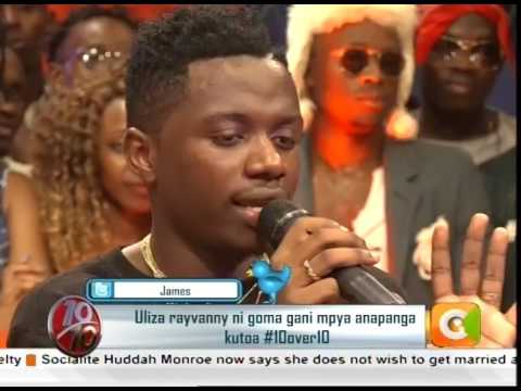 God willing, I will settle in Kenya - Rayvanny #10Over10