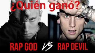 La pelea del siglo | Eminem vs Machine gun Kelly | Análisis con humor