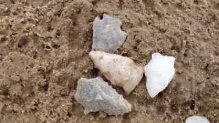 Ancient Arrowheads at Crosslands! ~ 306  Artifact Find! May 2015