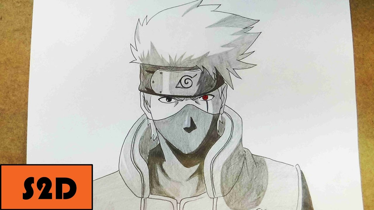 how to draw kakashi youtube