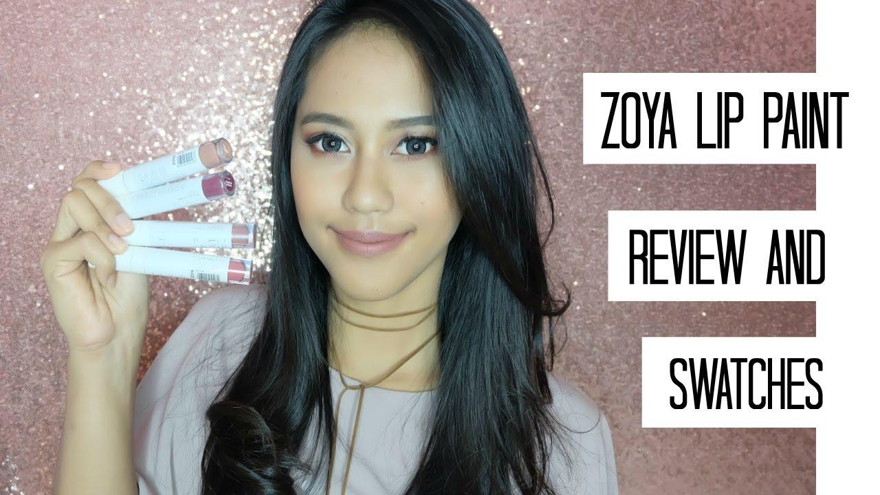 Zoya lip paint review swatches irma rahmasari youtube reheart Images