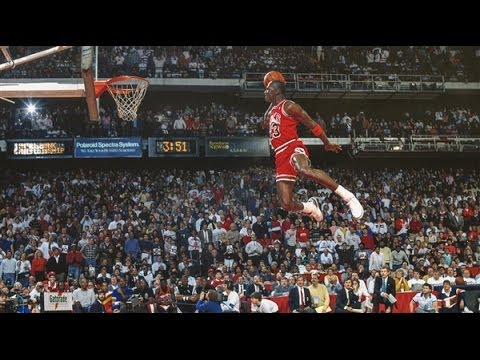 1988 NBA Slam Dunk Contest - Michael Jordan vs. Dominique Wilkins