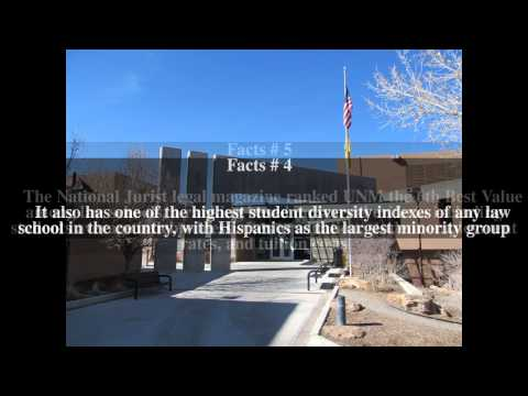 University of New Mexico School of Law Top # 7 Facts