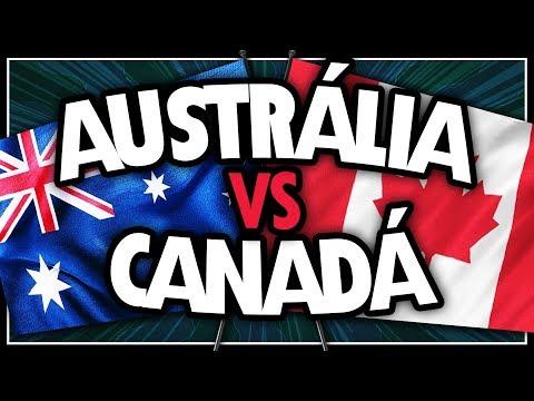 AUSTRÁLIA VERSUS CANADÁ - QUAL PAÍS É MELHOR PARA VIVER?