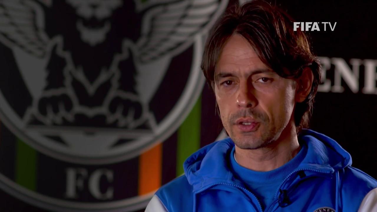 Filippo Inzaghi Star striker turned head coach