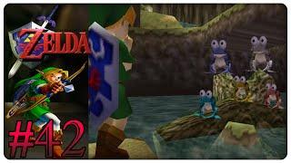 The Legend of Zelda: Ocarina of Time #42: Froschkonzert mit Ohrenautsch - Let's Play [100%/GER]