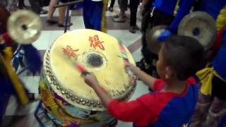 Video Sound of Drum and Cymbal for Lion Dance download MP3, 3GP, MP4, WEBM, AVI, FLV September 2017
