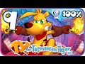 Ty the Tasmanian Tiger HD 100% Walkthrough Part 9 (PS4) Level 7: Lyre, Lyre Pants on Fire