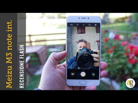 Meizu M3 note internazionale recensione flash