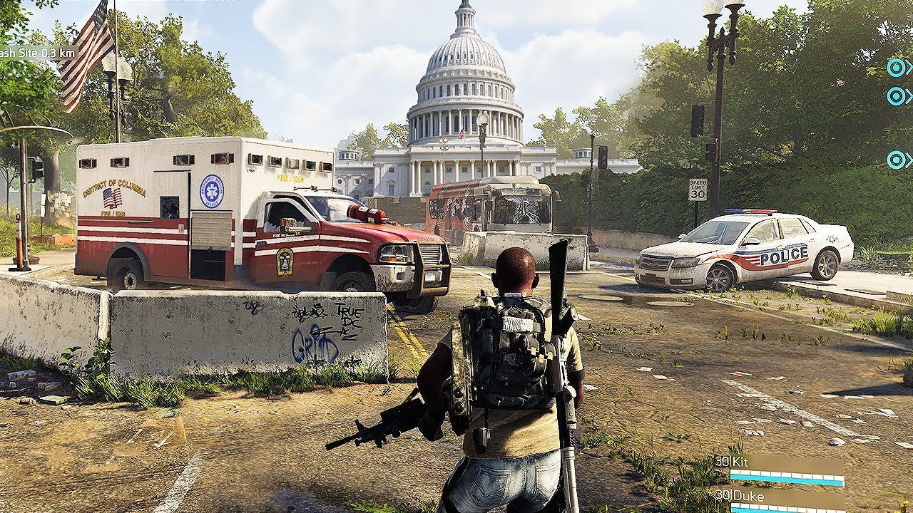 Tom Clancy\\\\\\\\\\\\\\\'s The Division Map Size The Division 2: 4K Gameplay + Endgame, Map Size & TONS OF NEW INFO