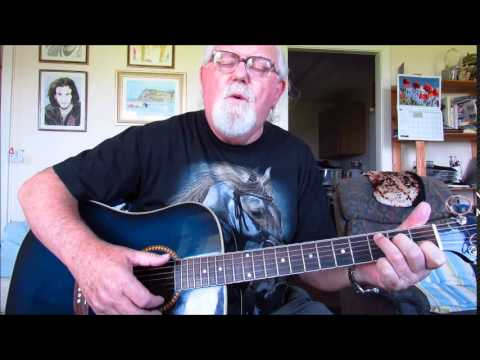 Guitar: The Old Lamplighter (Including lyrics and chords)