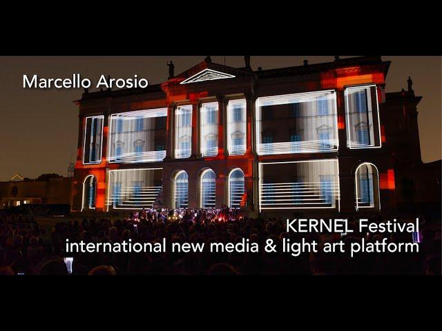 Luce e Colore tra Arte e Design | Marcello Arosio - Kernel Festival