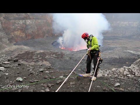 Daredevils Venture Into Spewing Volcano