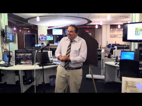 Stan Brooks 1010 WINS Newsroom Dedication