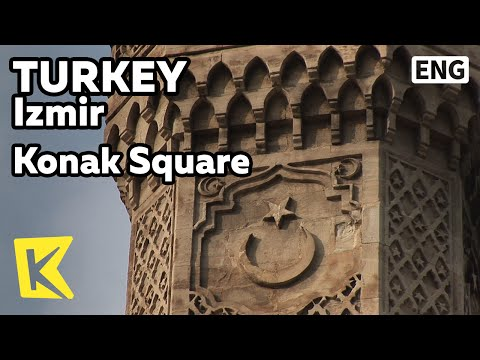 【K】Turkey Travel-Izmir[터키 여행-이즈미르]터키 공화국의 출발점, 코낙 광장/Konak Square/The Republic of Turkey/Clock Tower