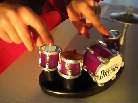 Finger Drums Mini Drum Set Mini Electronic Finger Drums