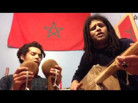 Gnawa London / Guembri with Wooden Krakebs Vid n2