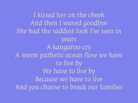 Blue October - Kangaroo Cry lyrics (Official NCIS Soundtrack)