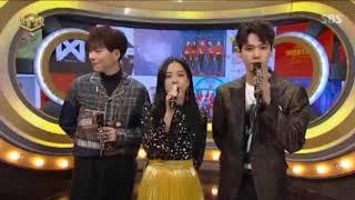 MC CUT 5 171112 Inkigayo 인기가요 BLOCK B ZICO BLACKPINK Jisoo NCT Doyoung ZIJIDO