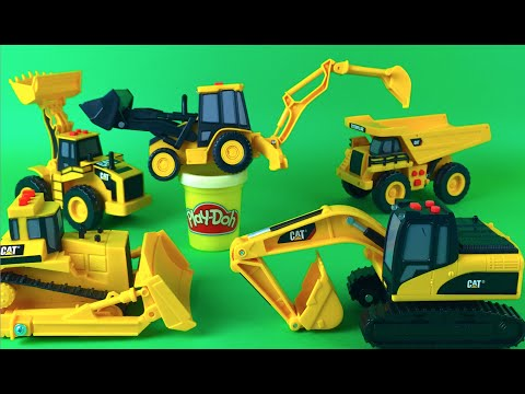 mighty machines digger video