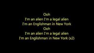 Englishman in New-York Cris Cab/Tefa/Moox/Willy William Lyrics Video