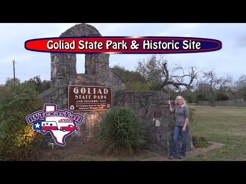 Goliad State Park and Historic Site | RV Texas