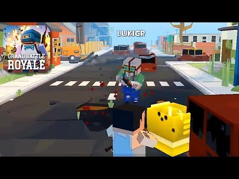 Grand Battle Royale: Pixel FPS - Gameplay Trailer (iOS