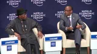 President Kagame speaks at World Economic Forum on Unlocking Job Creating Growth- Abuja, 8 May 2014