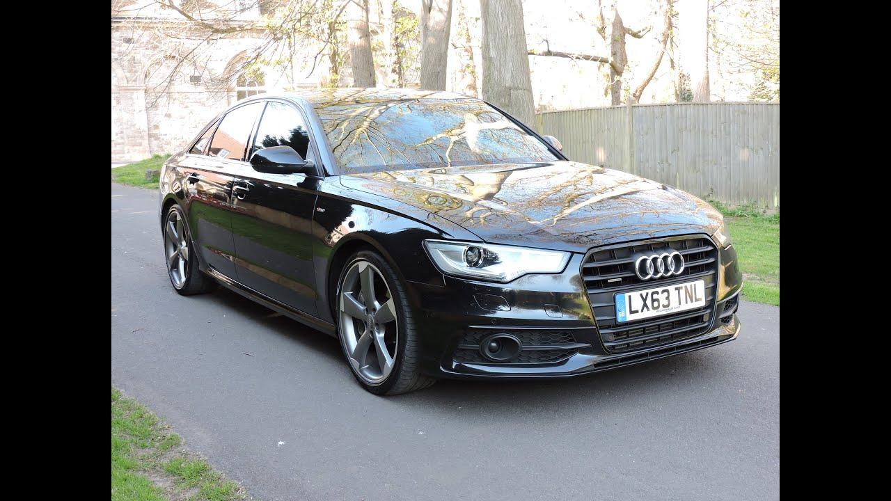 Audi A6 3.0 Bi TDI 313 Black Edition Walkaround - YouTube