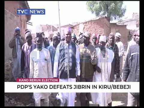PDP's Yako defeats Jibrin in Kiru/Bebeji rerun