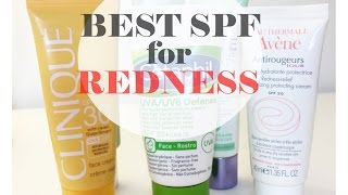 TOP 6 SPF PRODUCTS FOR REDNESS, ROSACEA AND SENSITIVE SKIN | TheInsideOutBeauty.com by Heidi