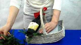 видео Подарочные корзины с алкоголем