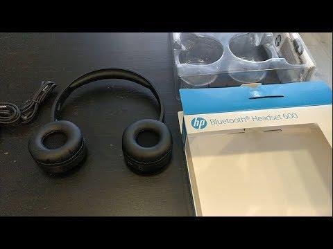 видео: Наушники HP Headset 600. Обзор
