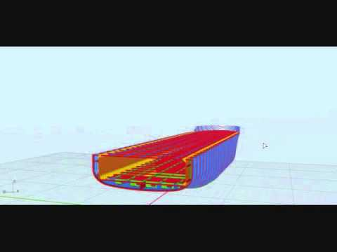 MAJOR STRUCTURAL COMPONENTS OF A SHIP(ROPAX)