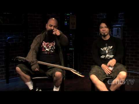 Tony Campos and Kiochi Fukuda of Static-X talk with EMGtv