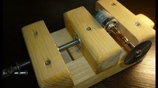 Как сделать столярные тиски. Полезные самоделки. How to make a joiner's vise. #сделайсам